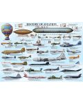 Puzzle Eurographics de 1000 piese – History of Aviation - 2t