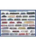 Puzzle Eurographics de 1000 piese – Locomotive contemporane - 2t