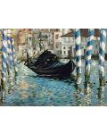 Puzzle Eurographics de 1000 piese – Canal Grande, Eduar Manet - 2t