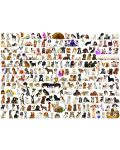 Puzzle Eurographics de 1000 piese – Lumea cateilor - 2t