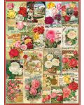 Puzzle Eurographics de 1000 piese – Catalog cu soiuri de trandafiri - 2t