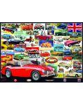 Puzzle Eurographics de 1000 piese – Colectie de British Motor Heritage - 1t