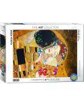 Puzzle Eurographics de 1000 piese – Sarutul, Gustav Klimt - 1t