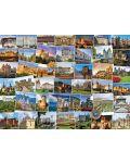 Puzzle Eurographics de 1000 piese – Calatorie la castelele si palatele din lume - 2t