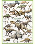 Puzzle Eurographics de 1000 piese – Dinozauri- perioada cretacică - 2t