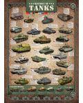 Puzzle Eurographics de 1000 piese – Istoria tancurilor - 2t