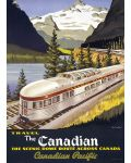 Puzzle Eurographics de 1000 piese – Canadian Pacific, Canadianul - 2t