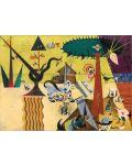 Puzzle Eurographics de 1000 piese – Campuri arate, Joan Miro - 2t