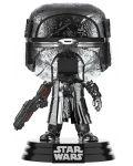 Figurina Funko POP! Star-Wars: Knight of Ren - Blaster Rifle (Chrome) #331 - 1t