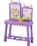 Set de joc Mattel Enchantimals - Studio de arta cu Felicity Fox si Flick - 5t