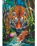 Puzzle Trefl de 1000 piese - Tigrul Pradator  - 2t