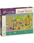 Puzzle Pomegranate de 300 piese - Bestii in jungla, David Sheskin - 1t