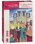 Puzzle Pomegranate de 300 piese - Familia Adams, Charles Addams - 1t