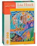Puzzle Pomegranate de 300 piese - Infasurare, pliere, Lisa Houck - 1t