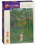 Puzzle Pomegranate de 300 piese - Padurea exotica, Henri Rousseau - 1t