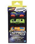 Set masinute Hasbro Nerf - Nitro, 3 bucati - 2t