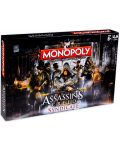Joc de masa Hasbro Monopoly - Assassins's Creed Syndicate - 1t
