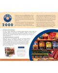 Puzzle Master Pieces de 2000 piese - Well Stocked Shelves - 3t