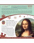 Puzzle  Master Pieces de 1000 piese - Mona Lisa - 3t