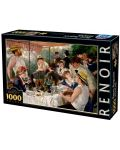 Puzzle D-Toys de 1000 piese - Luncheon of the Boating Party - 1t