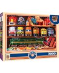 Puzzle Master Pieces de 2000 piese - Well Stocked Shelves - 1t
