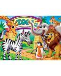 Puzzle Master Pieces de 100piese - Zoo Animals - 2t