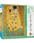 Puzzle Master Pieces de 1000 piese - The Kiss - 1t