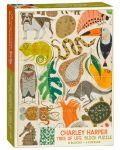 Puzzle-uri cubulete Pomegranate de 12 piese - Copacul vietii, Charley Harper - 1t