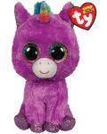 Jucarie de plus TY Toys Beanie Boos - Unicorn Rosette, 15 cm - 1t
