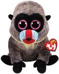 Jucarie de plus TY Toys Beanie Boos - Maimutica Wasabi, 15 cm - 1t
