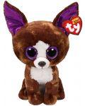 Jucarie de plus TY Toys Beanie Boos - Chihuahua Dexter, 15 cm - 1t