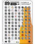 Poster de zgariat: 89 European Beers - 1t