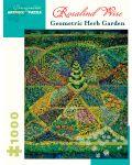Puzzle Pomegranate de 1000 piese - Gradina geometrica cu plante, Rosalind Wise - 1t