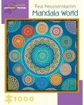 Puzzle Pomegranate de 1000 piese - Lumea  Mandala, Paul Heussenstamm - 1t