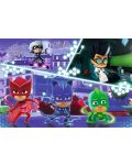 Puzzle Trefl de 100 piese - PJ Masks in actiuni - 2t