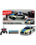 Masina cu telecomanda Dickie Toys - Patrula de politie - 1t
