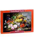 Puzzle Castorland de 2000 piese - Natura statica ciu fructe si flori - 1t