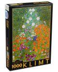 Puzzle D-Toys de 1000 piese - Gustav Klimt, Flower Garden - 1t