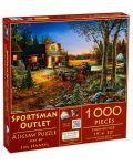 Puzzle SunsOut de 1000 piese - Outlet sportiv, Jim Hansel - 1t