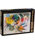 Puzzle D-Toys de 1000 piese - Dominant Cove, Vasili Kandinski - 1t