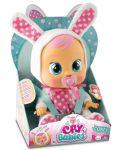 Papusa bebe plangacios IMC Toys Cry Babies, cu lacrimi - Coney, iepuras - 3t