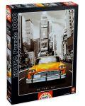 Puzzle Educa de 1000 piese - Taxi in New York - 1t