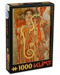 Puzzle D-Toys de 1000 piese - Gustav Klimt, - 1t