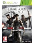 Ultimate Action Pack - Just Cause 2, Sleeping Dogs, Tomb Raider (Xbox 360) - 1t