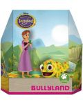 Set figurine Bullyland Tangled The Series - Rapunzel si Pascal - 1t