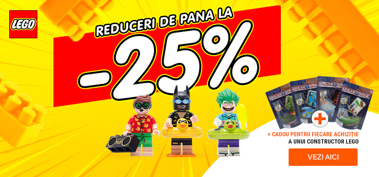 CONSTRUCTORI LEGO CU REDUCERI DE PÂNĂ LA -25%
